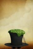 Gräsmatta på hatten stock illustrationer