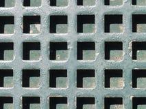 Gräsplan för järnmetallgaller Royaltyfri Foto