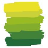 Gräsplan för konstobjektpalett Arkivfoton