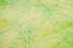 Gräsplan knövlad färgad textur för bakgrund för silkespapperpapper Vektor Illustrationer