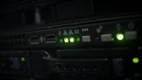 Gräsplan ledd indikatorexponering i mörkret lager videofilmer
