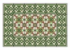 Gräsplan mattar Arkivfoto