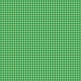 Gräsplan med den gröna prickmodellen Royaltyfria Bilder