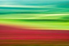 Gräsplan och rött fältabstrakt begrepp Royaltyfria Foton
