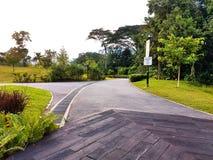 Gräsplan parkerar Royaltyfri Foto