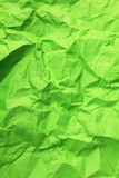 Gräsplan skrynkligt pappers- Royaltyfri Fotografi