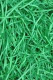 Gräsplan strimlat papper som bakgrund Arkivbilder
