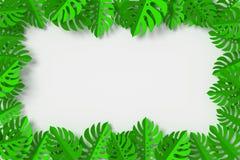 Gräsplansidor inramas på vit bakgrund, tolkningen 3d, med den snabba banan vektor illustrationer