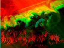 gräsred arkivfoton