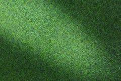 Grästextur eller gräsbakgrund grönt gräs för golfbana, fotbollfält eller design för sportbakgrundsbegrepp arkivbilder