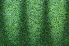 Grästextur eller gräsbakgrund grönt gräs för golfbana, fotbollfält eller design för sportbakgrundsbegrepp Konstgjord gräsplan arkivfoton
