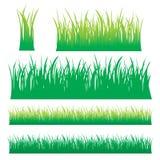 gräsvektor stock illustrationer