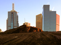Gräva den stad Arkivbilder