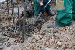 gräva dike Royaltyfri Bild