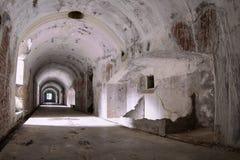 Gammal militär bunker Royaltyfri Foto