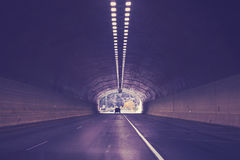 Gräva på mellanstatlig huvudväg 70, Colorado, USA Royaltyfri Foto