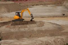 grävare Arkivfoton