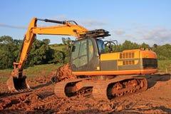 grävare arkivbild