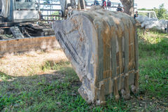 Grävare för konstruktionsmaskineri Arkivbilder