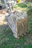Grävare för konstruktionsmaskineri Royaltyfria Bilder