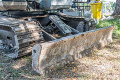 Grävare för konstruktionsmaskineri Royaltyfri Foto
