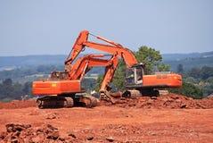 grävarear Arkivbild