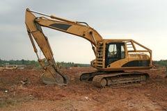 grävskopa Arkivfoto