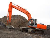 grävskopa Fotografering för Bildbyråer
