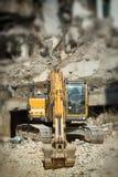 grävskopa Royaltyfria Foton