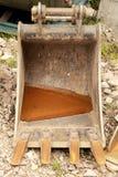 Grävskopa Bucket Arkivfoto