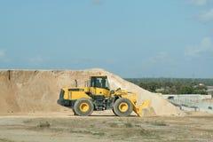 grävskopa för byggnadskonstruktion royaltyfri fotografi