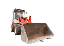 Grävskopa med den hydrauliska skyffeln Royaltyfri Foto