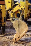 Grävskopa Scoop Arkivfoto