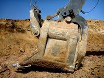 Grävskopaskyffel Arkivfoto