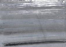 Grå abstrakt vattenfärgbakgrund Royaltyfria Bilder