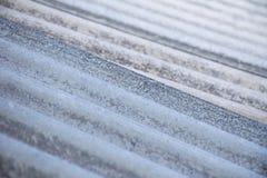 Grå asbesttaktextur royaltyfri bild