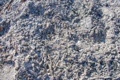 Grå askabakgrundstextur, grå aska från trät från spisen arkivbilder