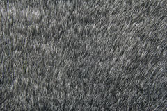 Grå bakgrund för konstgjord päls Royaltyfria Bilder
