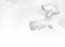 grå bandsilver för bow Vektor Illustrationer