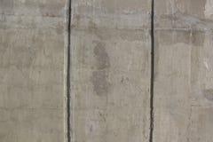 Grå betongvägg för bakgrund Arkivbilder
