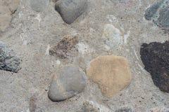 Grå cementgolvtextur för bakgrundsdesign Royaltyfria Bilder
