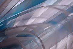 Grå färg-blått bakgrund Arkivfoto