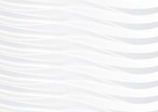 Grå färg- och vitvågbakgrund Stock Illustrationer