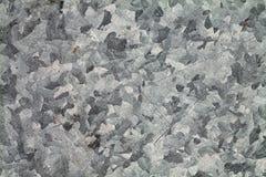 Grå färg skrapad yttersida för metallplatta Royaltyfria Foton