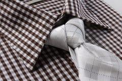 Grå färger binder för män Royaltyfri Fotografi