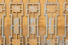 Grå färger förfalskat dekorativ lattic sikt texturerat abstrakt begrepp Royaltyfria Bilder
