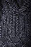 Grå färger figurerade tröjabakgrundslodlinje Royaltyfri Bild