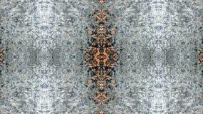 Grå färger och orange randig grungeabstrakt begreppdesign stock illustrationer
