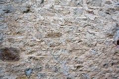 Grå färger räcker den byggda stenväggen Royaltyfri Fotografi