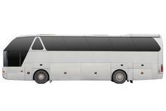 Grå färger turnerar bussen Arkivbild